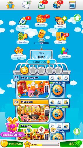 Télécharger Pocket Tower: Tour Construction & Megapolis Ville mod apk screenshots 5