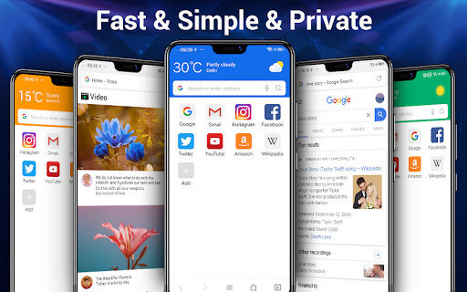 Web Browser & Explorer 3.5.2 Screenshots 1