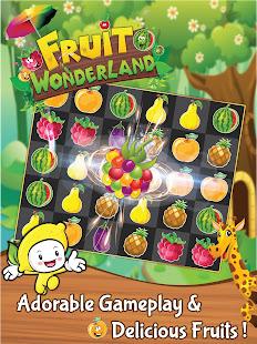 Match 3 Fruit Wonderland Puzzle - Jungle Adventure