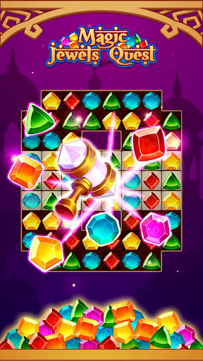 Magic Jewel Quest: New Match 3 & Jewel Games 2.0 screenshots 3