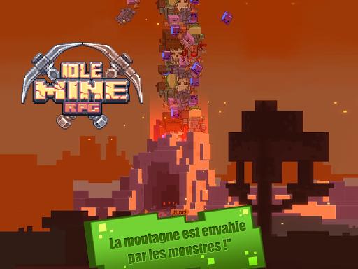 Idle Mine RPG APK MOD (Astuce) screenshots 3
