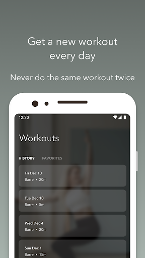 Barre | Ballet Workouts by Down Dog screenshots 4