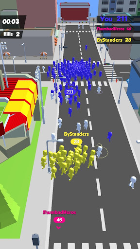 Crowd Race 3D : Biggest in the city! 1.3.0 screenshots 2