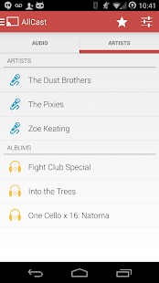 AllCast Receiver Screenshot