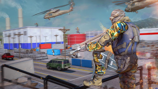 Real Commando Combat Shooter : Action Games Free android2mod screenshots 3