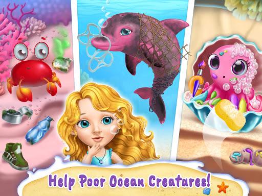 Sweet Baby Girl Mermaid Life - Magical Ocean World apkmr screenshots 17
