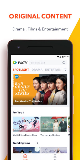 WeTV - Cdrama, Kdrama & More 3.4.0.5804 screenshots 1