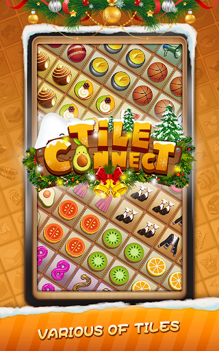 Tile Connect - Free Tile Puzzle & Match Brain Game android2mod screenshots 9