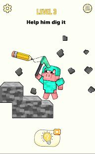 Stickman Craft - Brain Puzzle Games