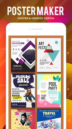 Flyers, Posters, Banner, Graphic Maker, Designs 1.2.1 Screenshots 2