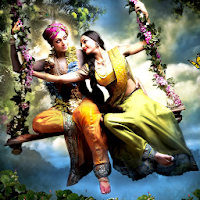 Lord Krishna HD Wallpaper Background for Mobile