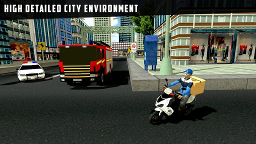 city courier delivery rider screenshot 2