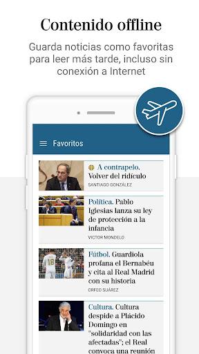 El Mundo - Diario lu00edder online 5.0.24 Screenshots 4