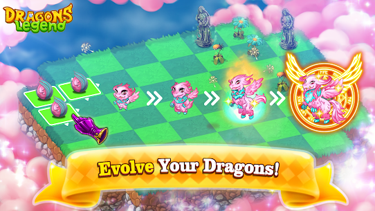 Dragons Legend – Merge and Build Game Mod Apk (Unlimited Resources) 5