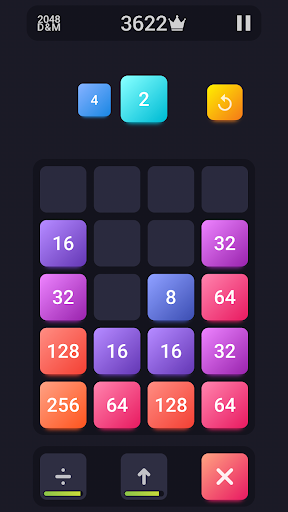 2048: Drop And Merge 1.3 screenshots 2