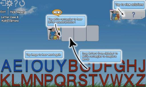 Montessori Words & Phonics screenshot