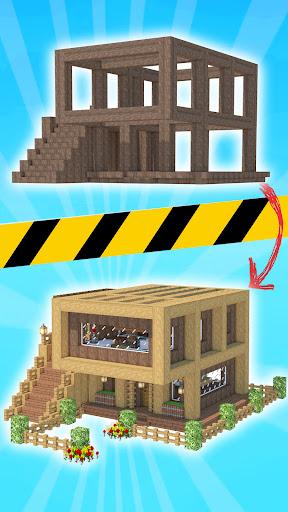 House Craft 3D - Idle Block Building Game  screenshots 1