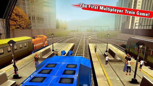 train racing games 3d 2 player screenshot 1