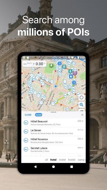Guru Maps Pro - Offline Maps & Navigation  poster 3