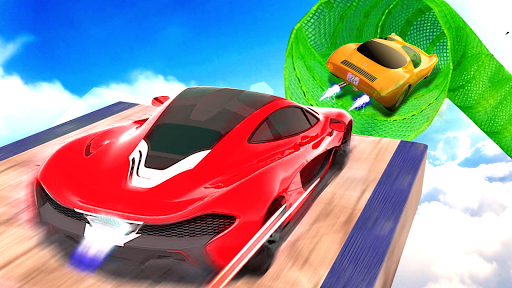 Impossible Track Car Driving Games: Ramp Car Stunt modavailable screenshots 15