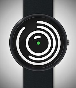Imgur Spiral Watch Face