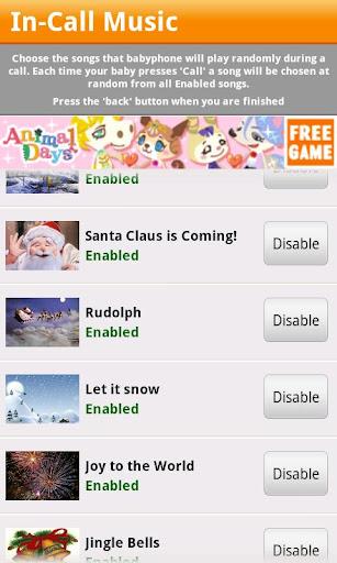 Baby Phone - Christmas Game screenshots 5