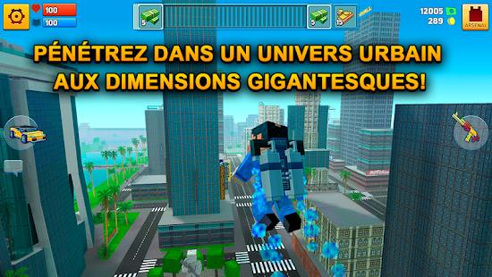 Block City Wars: Pixel Shooter with Battle Royale screenshots apk mod 2