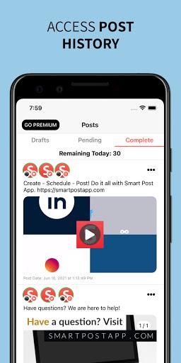 Foto do Smart Post: Social Media Tool for Instagram