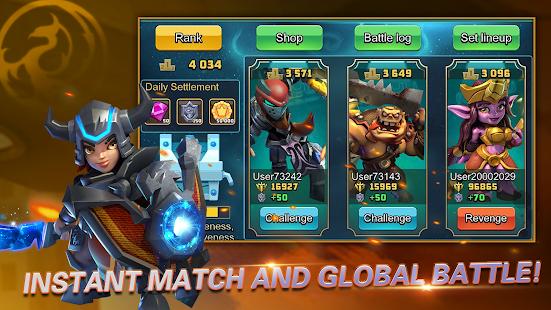Heroes Brawl: Monster Clash - Defense Zombies 1.0.0 Screenshots 10