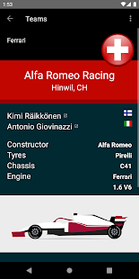 Racing Calendar 2021 (No Ads) Screenshot