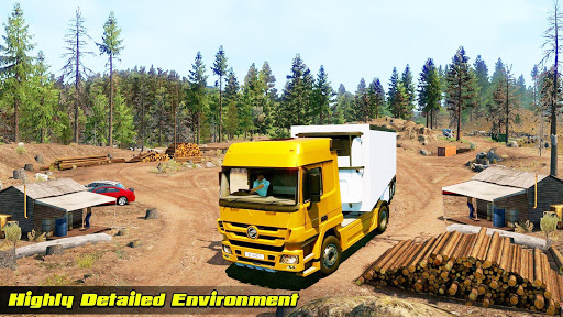 Speedy Truck Driver Simulator: Off Road Transport screenshots 1