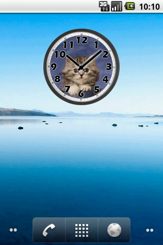Sweet Cat Clock For PC Windows (7, 8, 10, 10X) & Mac Computer Image Number- 5