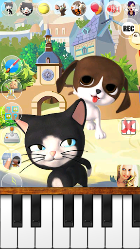 Talking Cat and Dog Kids Games  screenshots 11