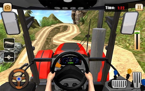 Real Tractor Drive Cargo 3D: New tractor game 2020 3