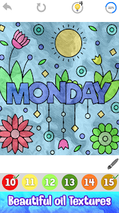 Days & Months Color by Number: Free Coloring Book