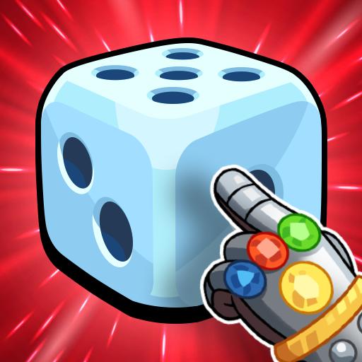 Merge Neon Dice - Tower Defense, Random Dice Game