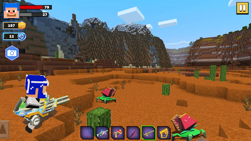 Fire Craft: 3D Pixel World android2mod screenshots 8