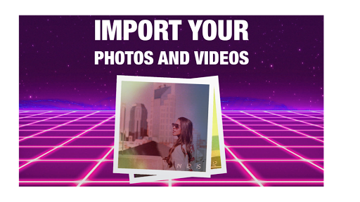 RAD VHS- Glitch Camcorder VHS Vintage Photo Editor 1.0.1 Screenshots 3