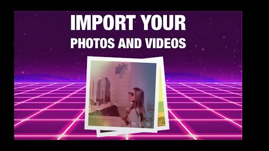RAD VHS- Glitch Camcorder VHS Vintage Photo Editor screenshots 3