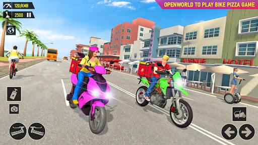 Pizza Delivery: Boy & Girl Bike Game 1.0 screenshots 1