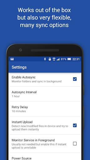 Autosync for OneDrive - OneSync screenshots 8