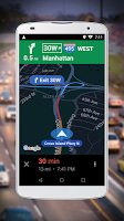 screenshot of Navigation for Google Maps Go