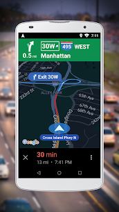 Navigation for Google Maps Go 2