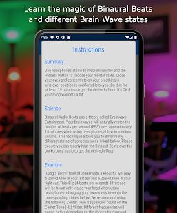 Binaural Beats Relaxation: Brain Waver
