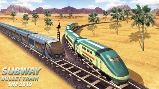 Subway Bullet Train Sim 2019  screenshots 1