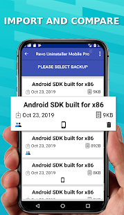 Revo Uninstaller Mobile Screenshot