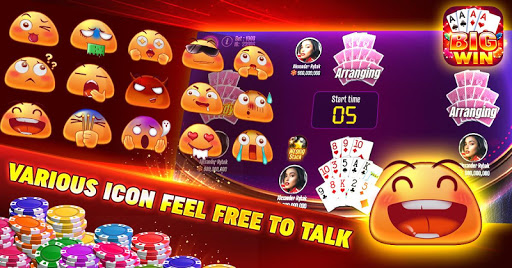 BIG WIN -Tongits And Pusoy Club 1.08 Screenshots 5
