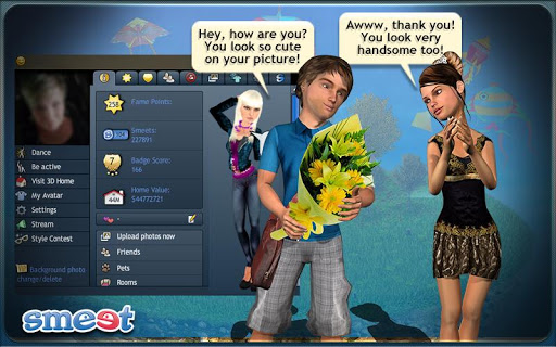 Smeet 3D Social Game Chat 100.01.993 screenshots 2