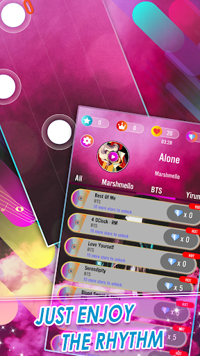 Piano Tiles: Marshmello Music Dance 2.5 screenshots 2