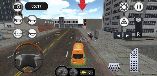 Minibus Bus Transport Driver Simulator apkpoly screenshots 18